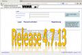18. März 2014: Release 4.7.13 wird eingespielt
