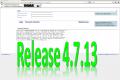 18. März 2014: Release 4.7.13 erfolgreich eingespielt
