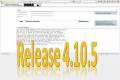 4. November 2014: Release 4.10.5 erfolgreich eingespielt