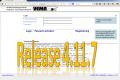 30. Juni 2015: Release 4.11.7 wird eingespielt