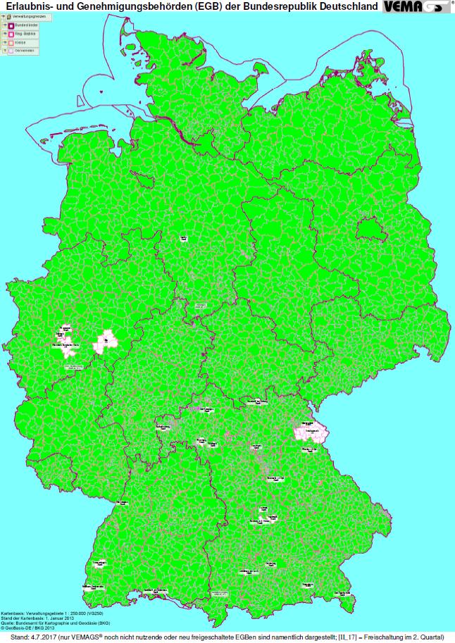 Ferienfahrverbot Lkw 2017 Karte.Vemags Verfahrensmanagement Für Großraum Und Schwertransporte