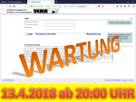 13. April 2018: Wartung der Anwendung VEMAGS ab 20:00 Uhr