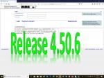 7. Mai 2018: Release 4.50.6 erfolgreich eingespielt