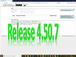 8. Juni 2018: Hotfix-Release 4.50.7 erfolgreich eingespielt