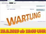 28. August 2019: Wartung der Anwendung VEMAGS ab 18:00 Uhr