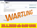25. Januar 2020: Wartung der Anwendung VEMAGS ab 8:00 Uhr